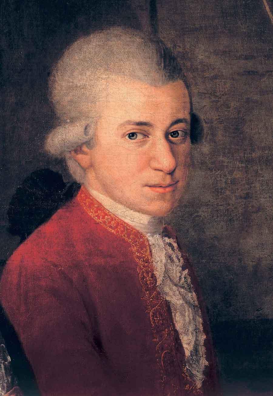 Wolfgang Amadeus Mozart im Rittersaal der Salzburger Residenz, Teil 2