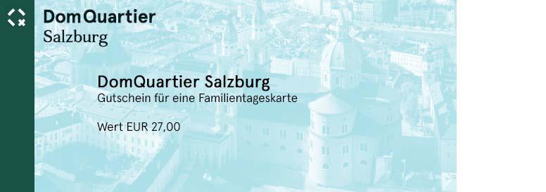 Tagesticket ins Museum in Salzburg für eine Familie