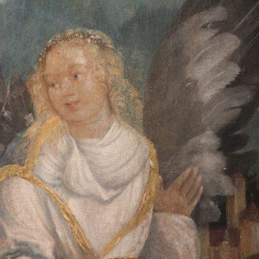 Artikelbild Ein Falt-Engel für den Christbaum