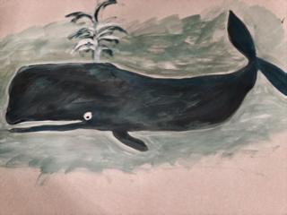 Artikelbild Spannende Klänge unter Wasser – einen Wal malen