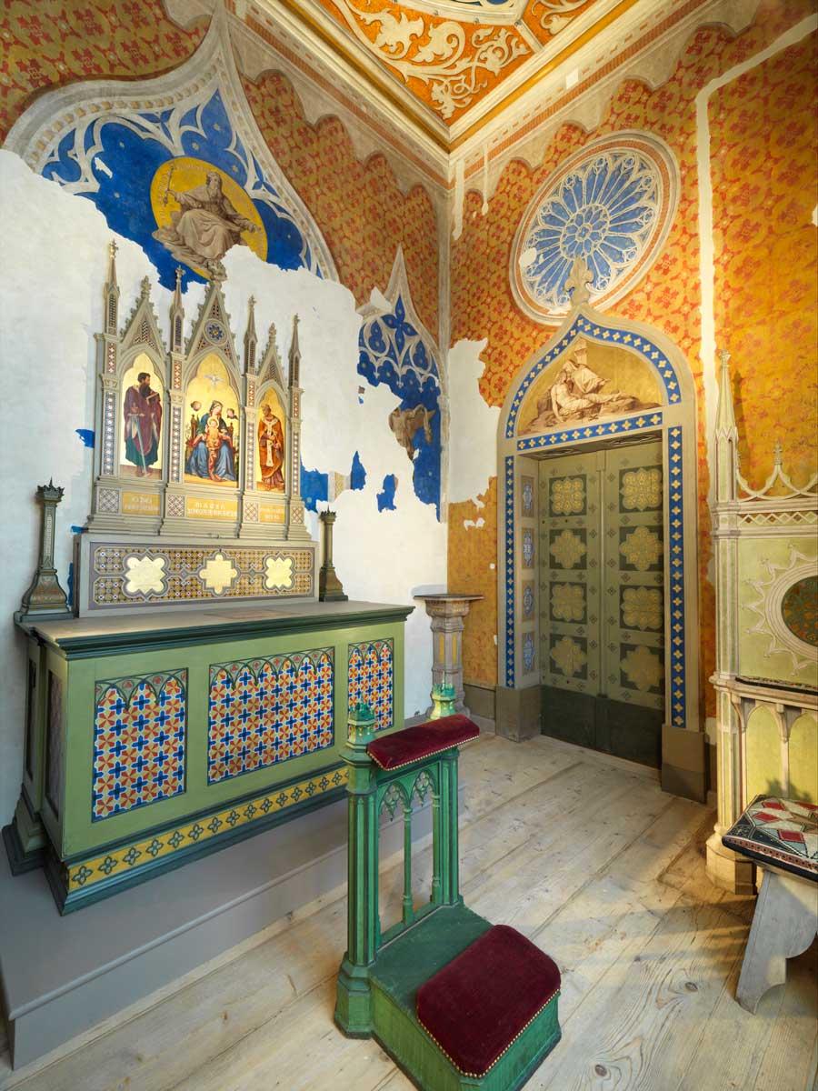 Renovierte Privatkapelle in der Residenz zu Salzburg