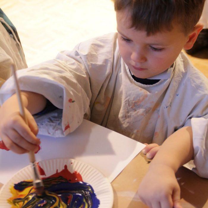 Veranstaltung Kreativ-Kids-Club – Jackson Pollock reloaded im DomQuartier Salzburg