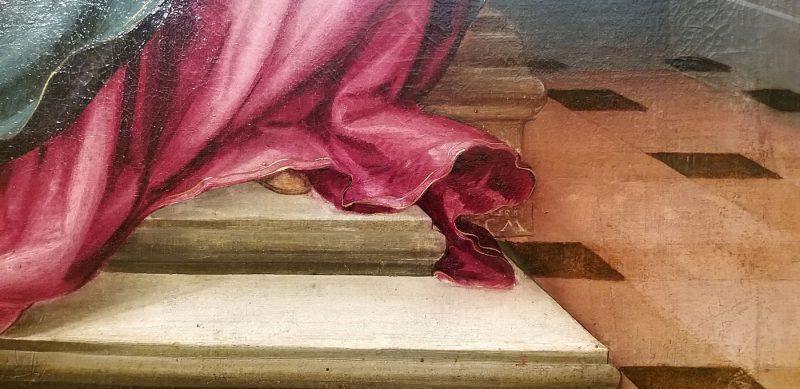 Detail Gemälde signiert mit CM